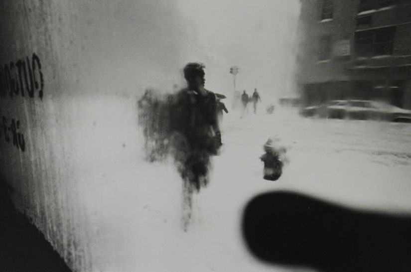 Saul Leiter : In no great hurry